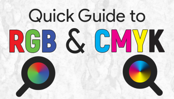 Quick Guide to RGb & CMYK